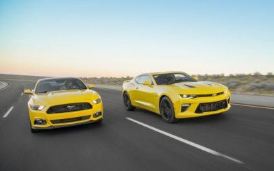 Chevrolet Camaro SS vs. Ford Mustang GT